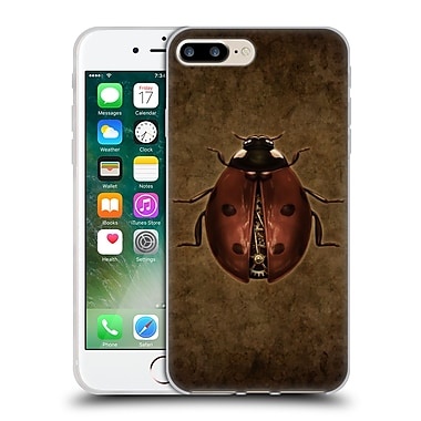 Official Brigid Ashwood Winged Things Steampunk Ladybug Soft Gel Case For Apple Iphone 7 Plus