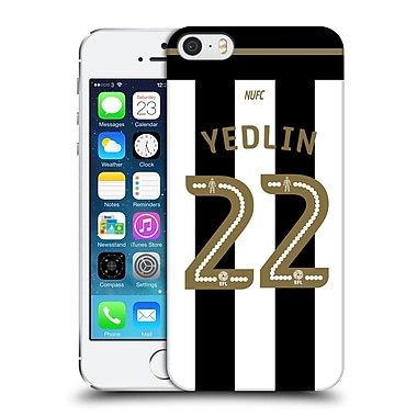 Official Newcastle United Fc Nufc 2016/17 Players Home Kit 2 Yedlin Hard Back Case For Apple Iphone 5 / 5S / Se