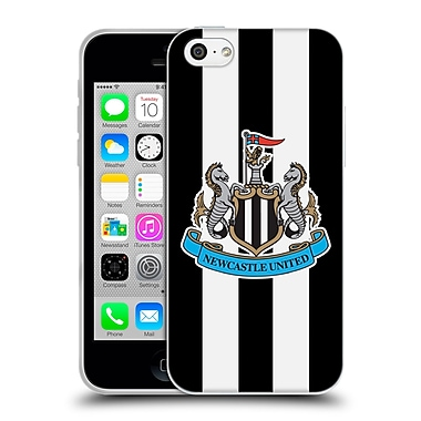Official Newcastle United Fc Nufc 2015/16 Crest Kit Home Full Colour Soft Gel Case For Apple Iphone 5C