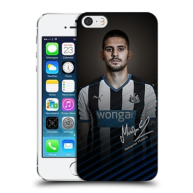 Official Newcastle United Fc Nufc 2015/16 First Team Aleksandar Mitrovic Hard Back Case For Apple Iphone 5 / 5S / Se