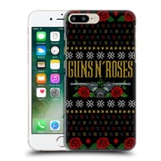 Official Guns N' Roses Christmas Text Logo Pistol Hard Back Case For Apple Iphone 7 Plus