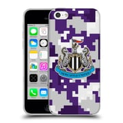 Official Newcastle United Fc Nufc 2016/17 Crest Kit Digital Camo Third Colours Soft Gel Case For Apple Iphone 5C