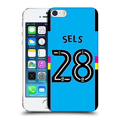 Official Newcastle United Fc Nufc 2016/17 Players Third Kit 1 Sels Hard Back Case For Apple Iphone 5 / 5S / Se