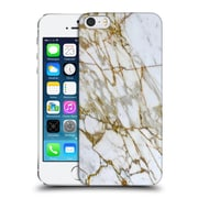 Official Haroulita Marble Gold Hard Back Case For Apple Iphone 5 / 5S / Se