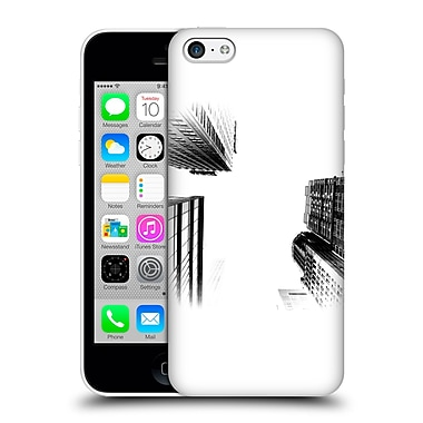 Official Haroulita Black And White Ny Towers Hard Back Case For Apple Iphone 5C