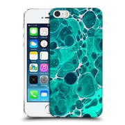 Official Haroulita Marble Teal Bubbles Hard Back Case For Apple Iphone 5 / 5S / Se