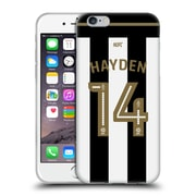 Official Newcastle United Fc Nufc 2016/17 Players Home Kit 2 Hayden Soft Gel Case For Apple Iphone 6 / 6S