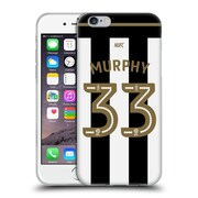 Official Newcastle United Fc Nufc 2016/17 Players Home Kit 2 Murphy Soft Gel Case For Apple Iphone 6 / 6S