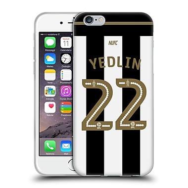 Official Newcastle United Fc Nufc 2016/17 Players Home Kit 2 Yedlin Soft Gel Case For Apple Iphone 6 / 6S