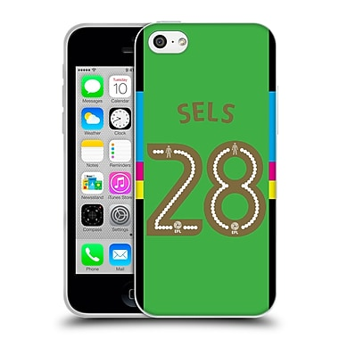 Official Newcastle United Fc Nufc 2016/17 Players Away Kit 1 Sels Soft Gel Case For Apple Iphone 5C