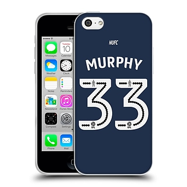 Official Newcastle United Fc Nufc 2016/17 Players Away Kit 2 Murphy Soft Gel Case For Apple Iphone 5C