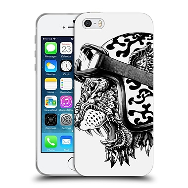 Official Bioworkz Animal Head Tiger Helm Soft Gel Case For Apple Iphone 5 / 5S / Se