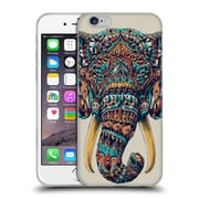 Official Bioworkz Coloured Animal Head 1 Ornate Elephant Soft Gel Case For Apple Iphone 6 / 6S