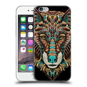 Official Bioworkz Coloured Animal Head 1 Wolf Head 2 Soft Gel Case For Apple Iphone 6 / 6S