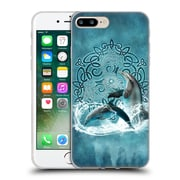 Official Brigid Ashwood Celtic Wisdom Dolphin Soft Gel Case For Apple Iphone 7 Plus