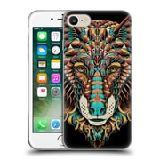 Official Bioworkz Coloured Animal Head 1 Wolf Head 2 Soft Gel Case For Apple Iphone 7