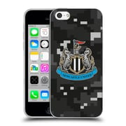 Official Newcastle United Fc Nufc 2016/17 Crest Kit Digital Camo Home Colours Soft Gel Case For Apple Iphone 5C