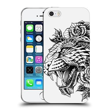 Official Bioworkz Animal Head Ornate Leopard Soft Gel Case For Apple Iphone 5 / 5S / Se