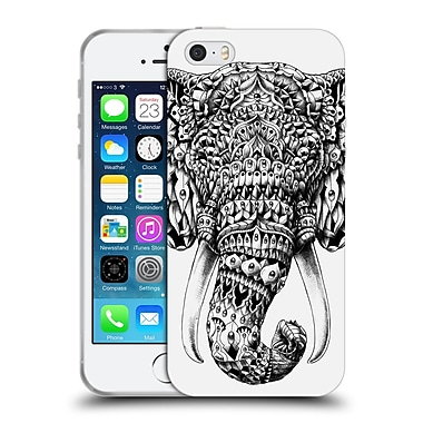 Official Bioworkz Animal Head Ornate Elephant Soft Gel Case For Apple Iphone 5 / 5S / Se