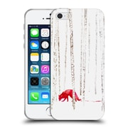 Official Robert Farkas Fox There'S No Way To Run Soft Gel Case For Apple Iphone 5 / 5S / Se