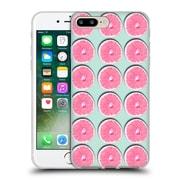 Official Mark Ashkenazi Patterns Grapefruit Soft Gel Case For Apple Iphone 7 Plus