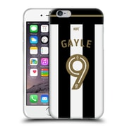 Official Newcastle United Fc Nufc 2016/17 Players Away Kit 1 Gayle Soft Gel Case For Apple Iphone 6 / 6S