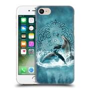 Official Brigid Ashwood Celtic Wisdom Dolphin Hard Back Case For Apple Iphone 7