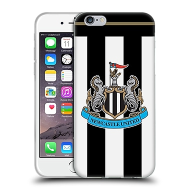 Official Newcastle United Fc Nufc 2016/17 Kit Home Soft Gel Case For Apple Iphone 6 / 6S