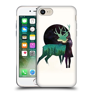 Official Robert Farkas Deer Let The Universe Love You Soft Gel Case For Apple Iphone 7