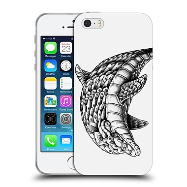 Official Bioworkz Ornate Dolphin Soft Gel Case For Apple Iphone 5 / 5S / Se