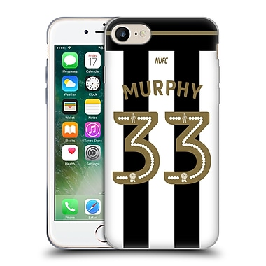 Official Newcastle United Fc Nufc 2016/17 Players Home Kit 2 Murphy Soft Gel Case For Apple Iphone 7