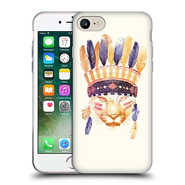 Official Robert Farkas Animals 2 Big Chief Soft Gel Case For Apple Iphone 7