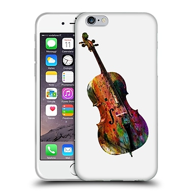 Official Mark Ashkenazi Music Chello Soft Gel Case For Apple Iphone 6 / 6S