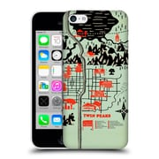 Official Robert Farkas Maps Welcome To Twin Peaks Hard Back Case For Apple Iphone 5C