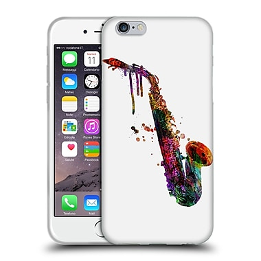 Official Mark Ashkenazi Music Saxophone Soft Gel Case For Apple Iphone 6 / 6S