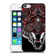Official Bioworkz Coloured Animal Head 1 Wolf 1 Hard Back Case For Apple Iphone 5 / 5S / Se