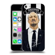 Official Newcastle United Fc Nufc Rafa Benitez Signed Soft Gel Case For Apple Iphone 5C