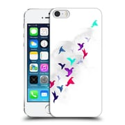 Official Robert Farkas Animals 3 Paper Birds Hard Back Case For Apple Iphone 5 / 5S / Se