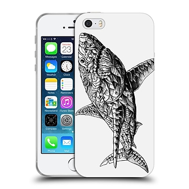 Official Bioworkz Ornate White Shark Soft Gel Case For Apple Iphone 5 / 5S / Se