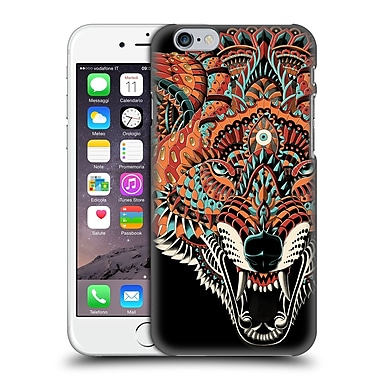 Official Bioworkz Coloured Animal Head 1 Wolf 2 Hard Back Case For Apple Iphone 6 / 6S