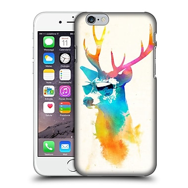 Official Robert Farkas Hipster Animals Sunny Stag Hard Back Case For Apple Iphone 6 / 6S