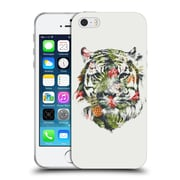 Official Robert Farkas Animals 3 Tropical Tiger Soft Gel Case For Apple Iphone 5 / 5S / Se
