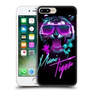 Official Robert Farkas Typography Miami Tiger Hard Back Case For Apple Iphone 7 Plus
