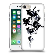 Official Robert Farkas Animals 3 Black Horses Soft Gel Case For Apple Iphone 7