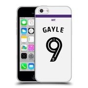 Official Newcastle United Fc Nufc 2016/17 Players Third Kit 1 Gayle Soft Gel Case For Apple Iphone 5C