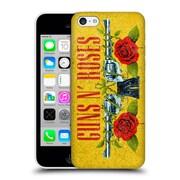 Official Guns N' Roses Vintage Pistols Hard Back Case For Apple Iphone 5C