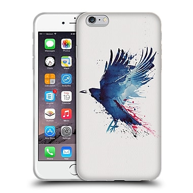 Official Robert Farkas Animals Bloody Crow Soft Gel Case For Apple Iphone 6 Plus / 6S Plus
