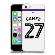 Official Newcastle United Fc Nufc 2016/17 Players Third Kit 1 Gamez Soft Gel Case For Apple Iphone 5C