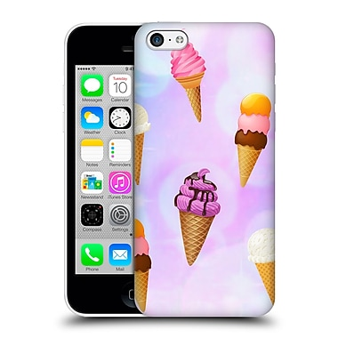 Official Haroulita Patterns Ice Cream Hard Back Case For Apple Iphone 5C