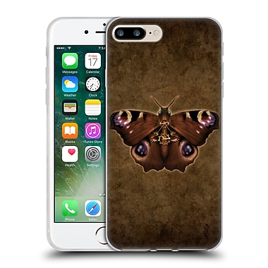 Official Brigid Ashwood Winged Things Steampunk Peacock Butterfly Soft Gel Case For Apple Iphone 7 Plus